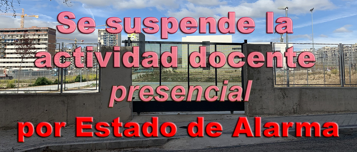 Permalink to:Se cierran los centros educativos en toda España por Estado de Alarma